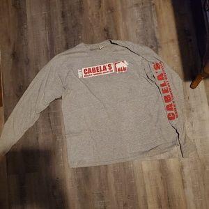 Cabelas long sleeved tshirt NWOT
